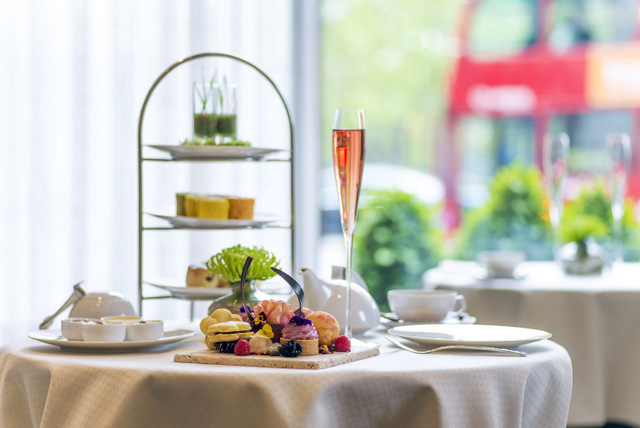 """Scents of Summer"" Afternoon Tea. Photo courtesy InterContinental London Park Lane Hotel"