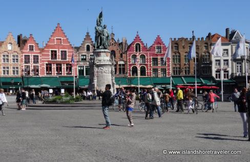 Grote Mark - Market Square, Bruges, Belgium