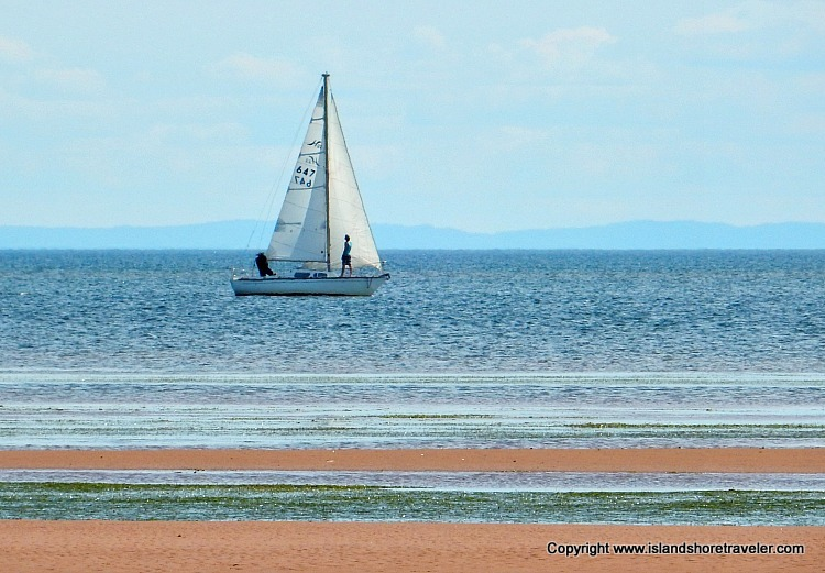 Sailing in PEI