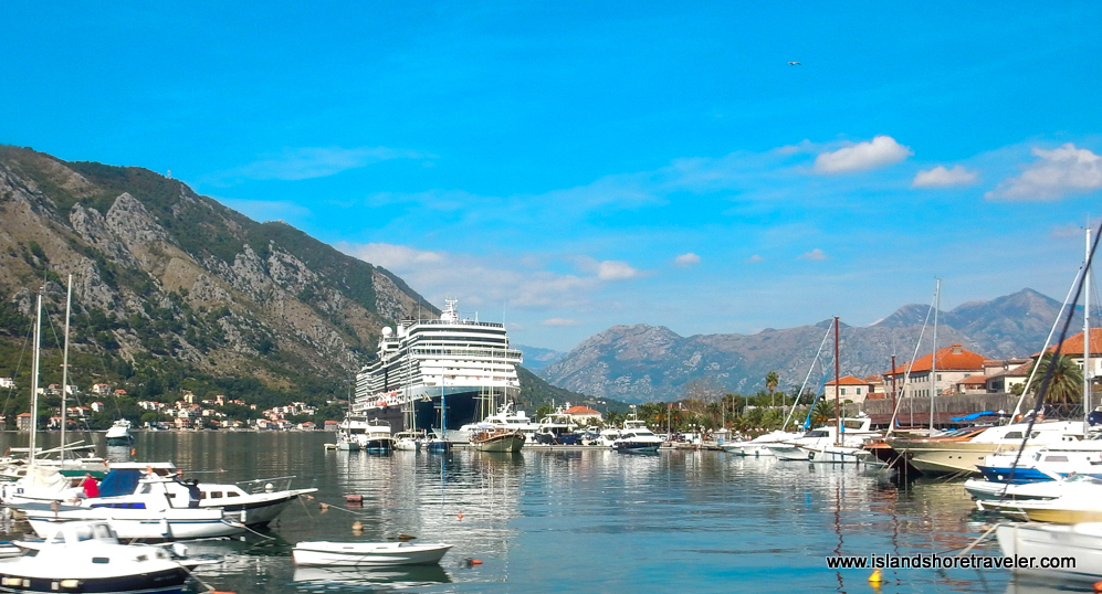 ms Eurodam Docked in Kotor, Montenegro