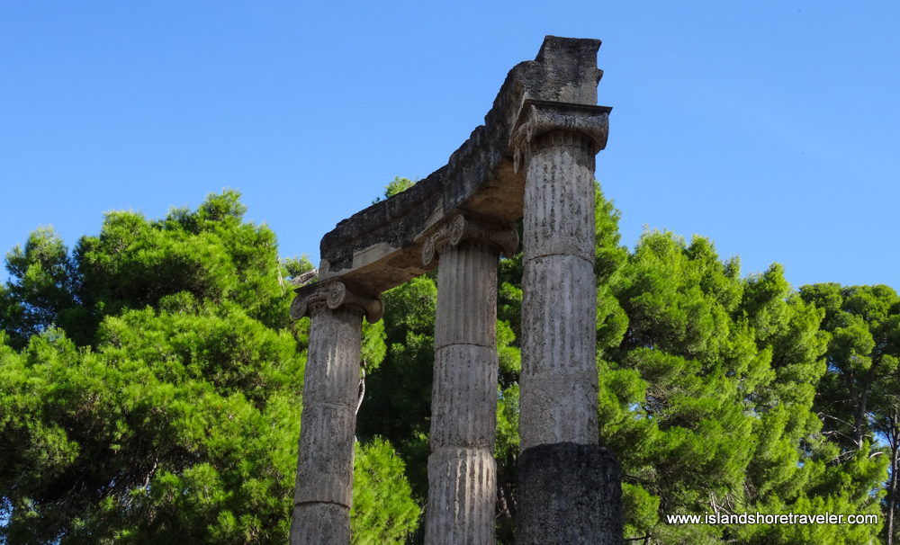 Ruins of Philippeion, Ancient Olympia, Greece