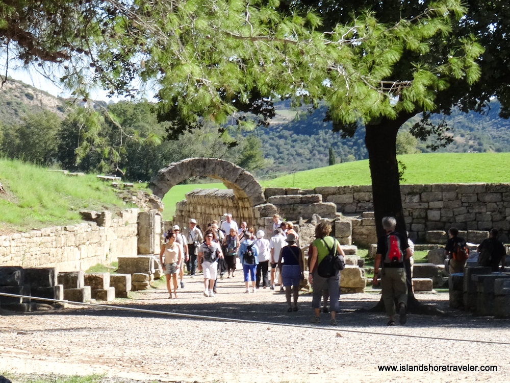 Vaulted Entrance to Stadium, Ancient Olympia, Greece
