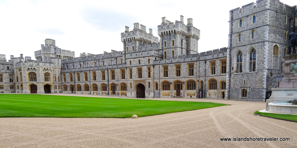 Gray Gothic Quadrangle at Windsor Castle