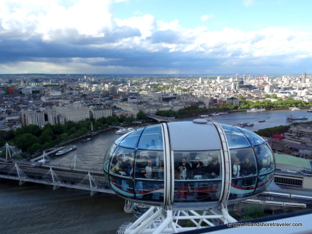 Passenger Capsule on The London Eye