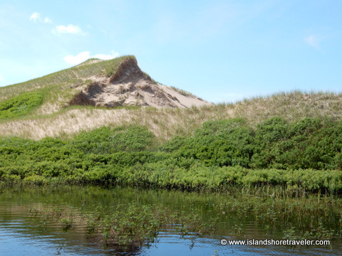 Sand Dunes at Greenwich National Park, Prince Edward Island, Canada