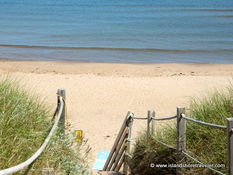 Beach at Greenwich National Park, Prince Edward Island, Canada