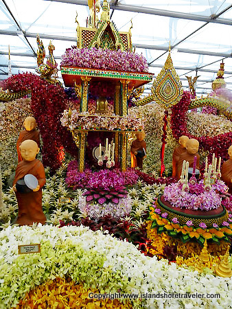 """Thailand, Land of Buddhism"", 2015 Gold Medal Winner, Chelsea Flower Show"
