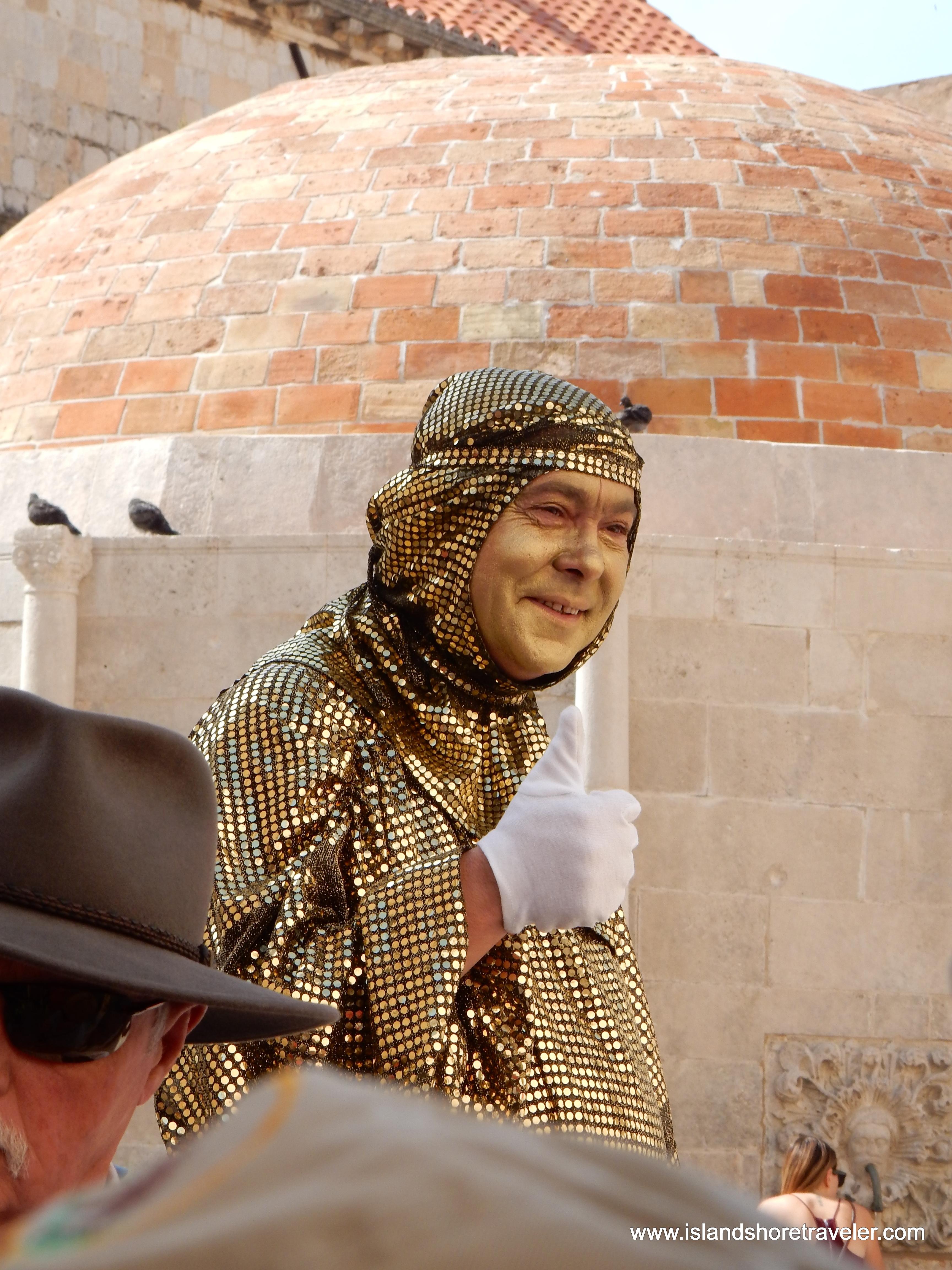 Busker/Street Performer in Dubrovnik