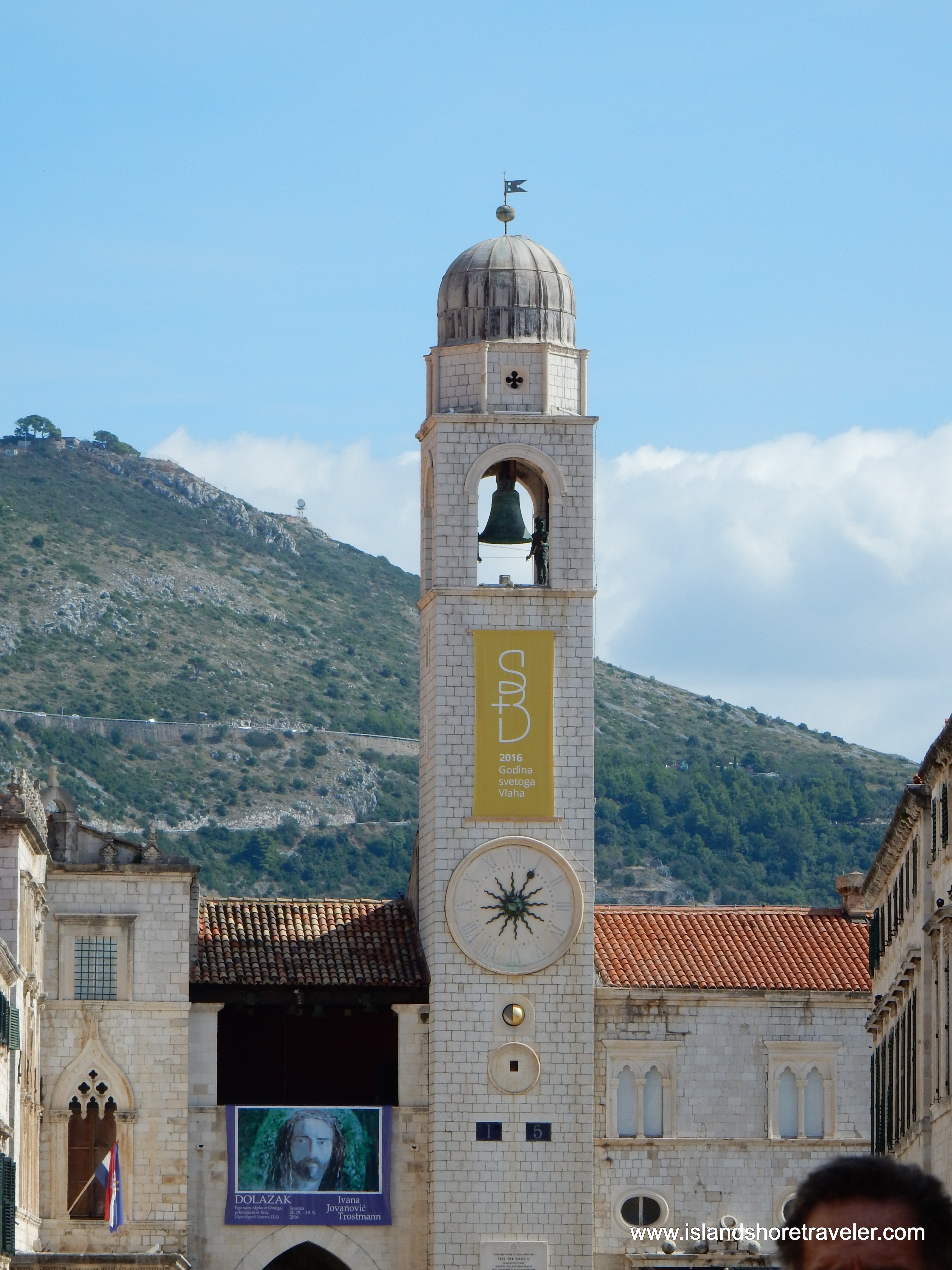 Clock Tower in Dubrovnik