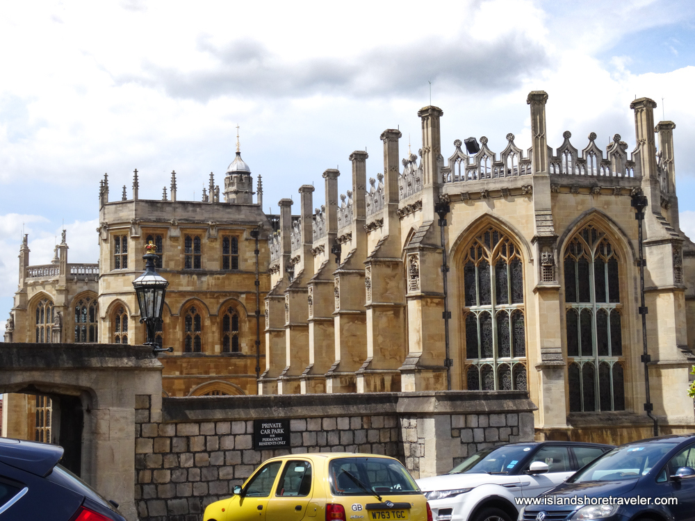 Gothic Architecture of St. George's Chapel at Windsor Castle